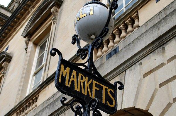 Bath Guildhall Market Sign