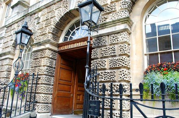 Bath Guildhall exterior