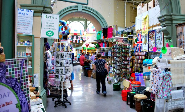 Bath Guildhall market