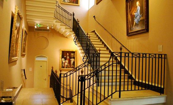 Bath Holburne Museum staircase