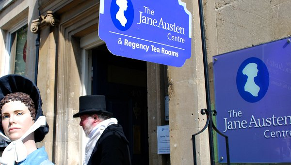 Bath Jane Austen Centre Signs