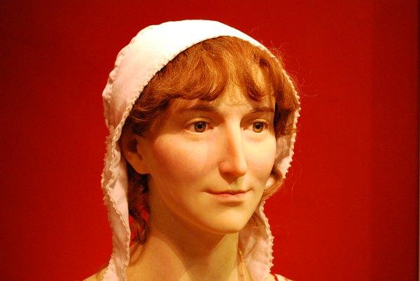 Bath Jane Austen Centre Waxwork