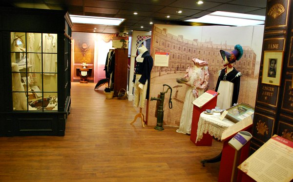 Bath Jane Austen Centre exhibition