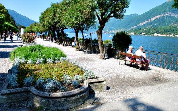 Como Bellagio gardens