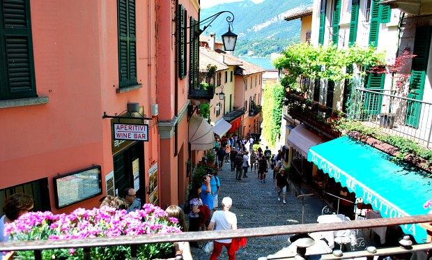 Como Bellagio steps