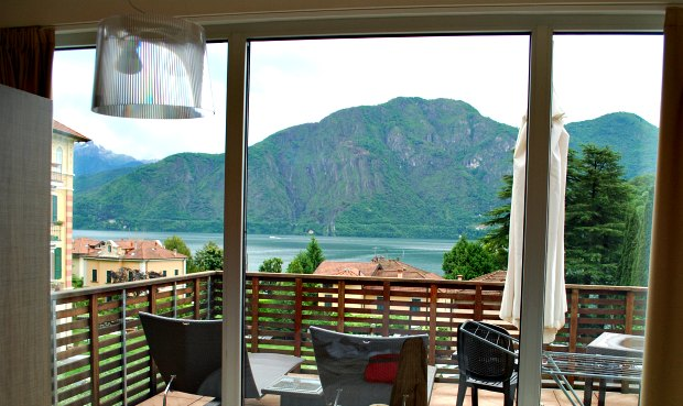 Como Residence Lenno view