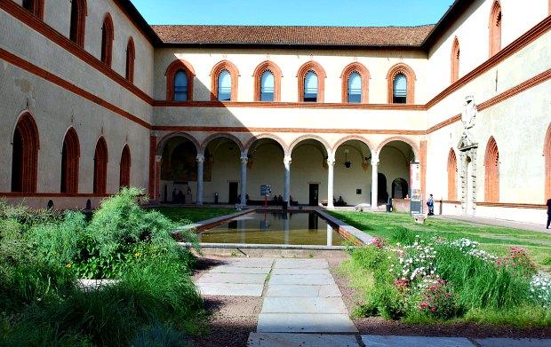 Milan Castello Sforzesco Museum