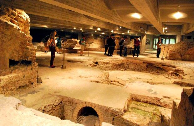 Milan Duomo Excavations
