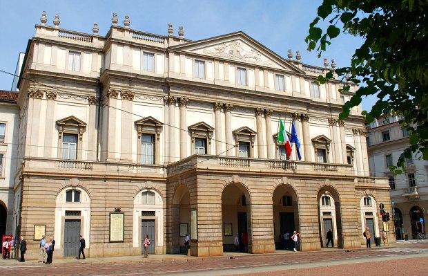 Milan La Scala Exterior