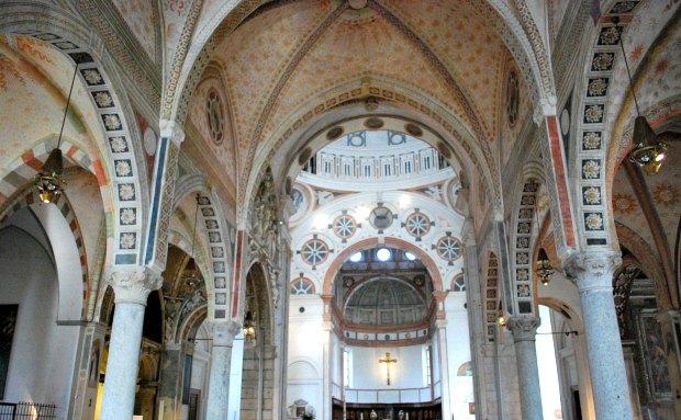 Milan Maria de Grazie interior