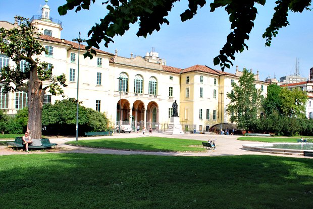 Milan Public Gardens