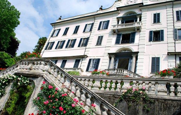 Como Villa Carlotta angle