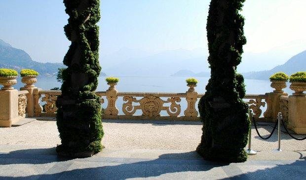 Como Villa del Balbianello loggia