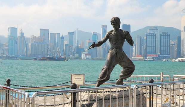 Hong Kong Avenue Of Stars Bruce Lee