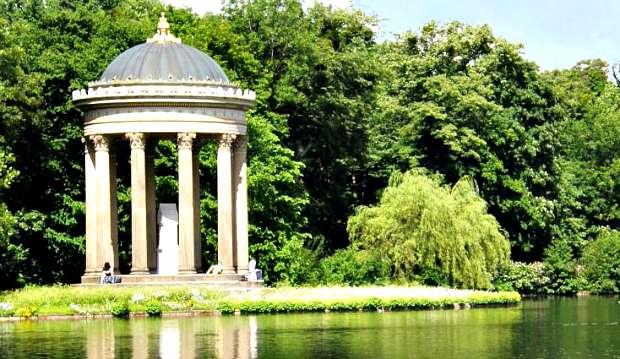 Munich Nymphenburg Gardens