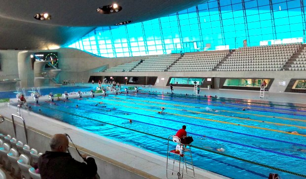 London Queen Elizabeth Olympic Park Pool