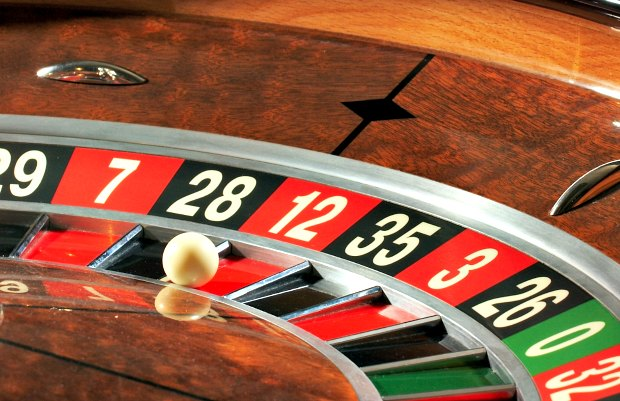 Las Vegas Roulette wheel