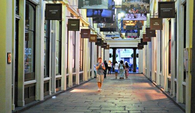 London Covent Garden shops