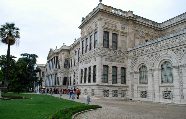 Istanbul Dolmabahce Palace Exterior