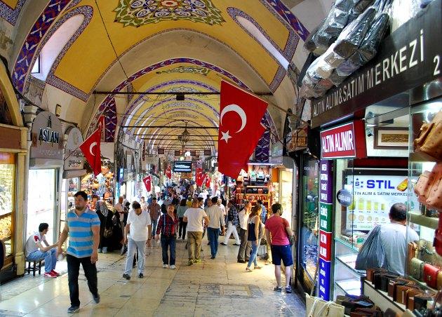 Istanbul Grand Bazaar Walkway 1
