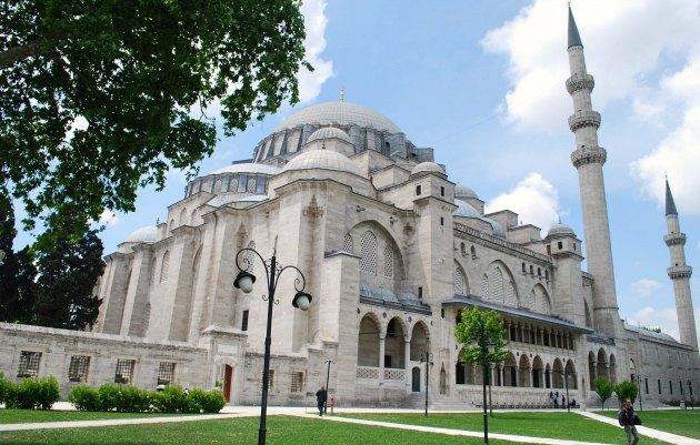 Istanbul Süleymaniye Mosque Exterior