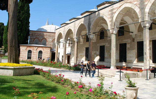Istanbul Topkapi Palace Courtyard