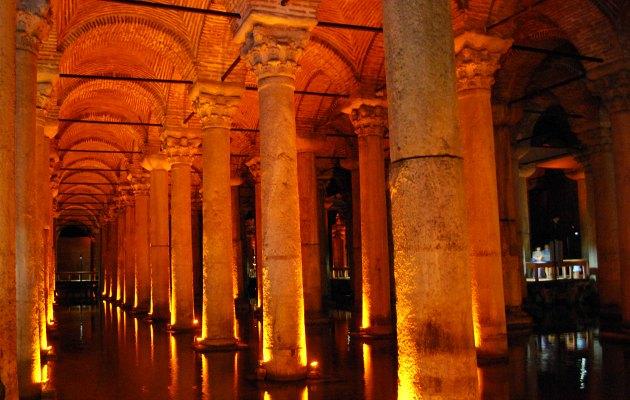 Istanbul Basilica Cistern columns