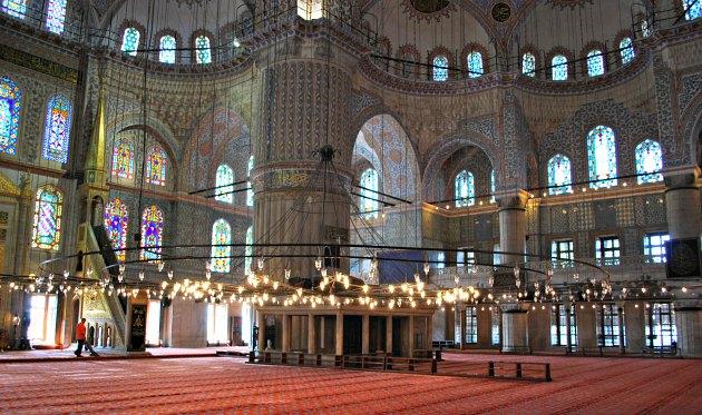 Istanbul Blue Mosque Carpet