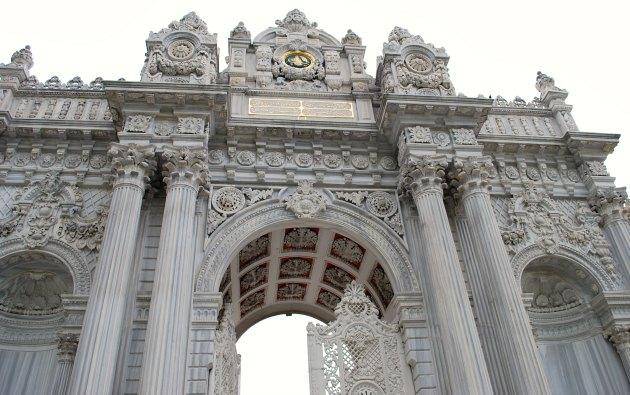 Istanbul Dolmabahçe Palace Entrance Gate