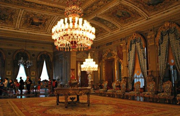 Istanbul Dolmabahçe Palace Inside
