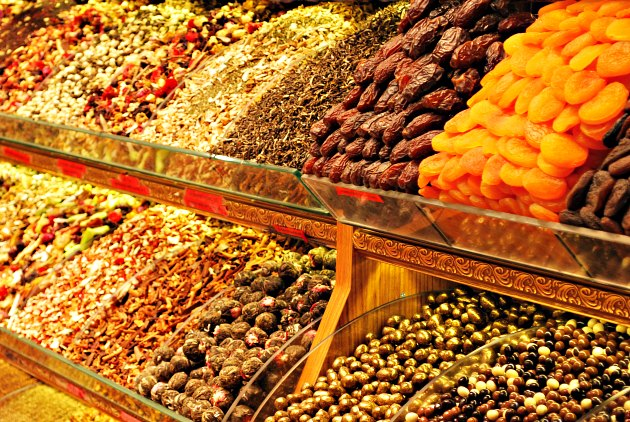 Istanbul Grand Bazaar Dried Fruits