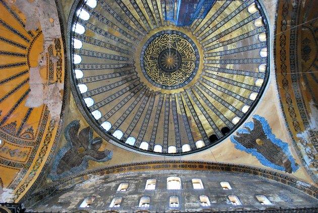 Istanbul Hagia Sophia Dome
