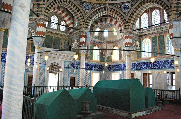 Istanbul Hagia Sophia Tombs Interior