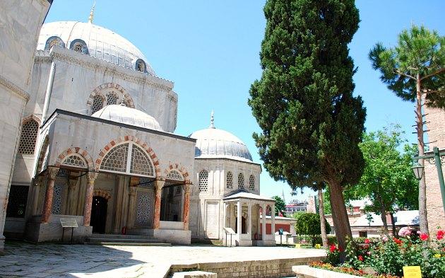 Istanbul Hagia Sophia Tombs exterior