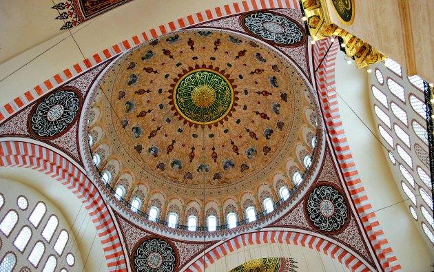 Istanbul Süleymaniye Mosque Dome