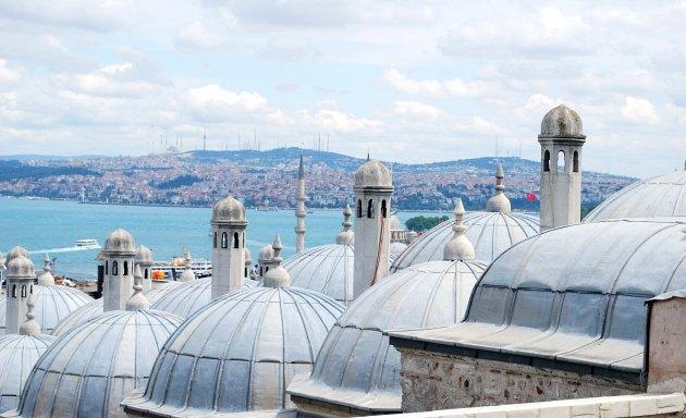 Istanbul Süleymaniye Mosque View