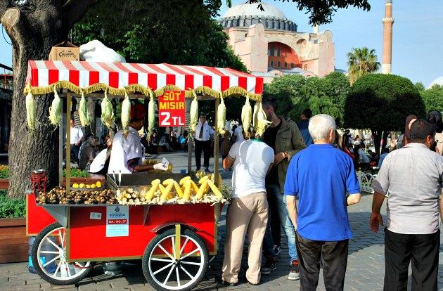 Istanbul Sultanahmet Square Street Trader