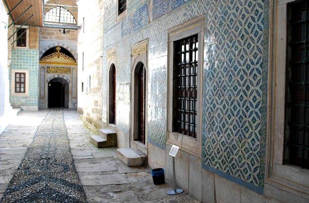 Istanbul Topkapi Palace Harem Corridor