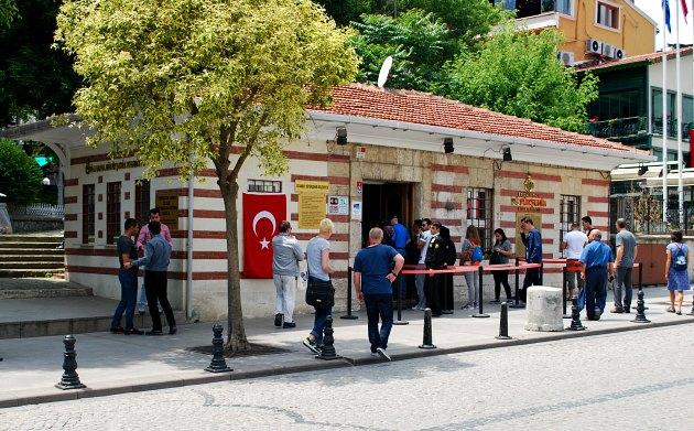 Istanbul Basilica Cistern Entrance