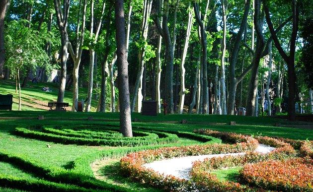 Istanbul Gulhane Park Grass