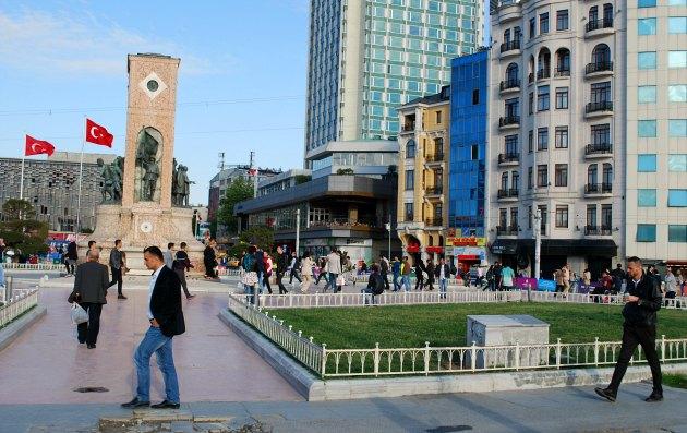 Istanbul Taksim Square Memorial