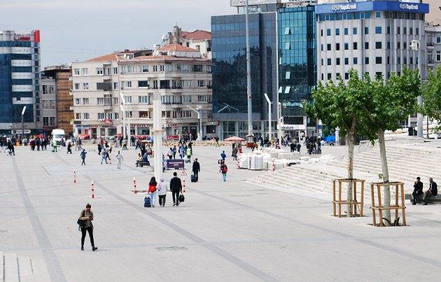 Istanbul Taksim Square Plaza