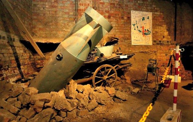 Nottingham City Of Caves Bomb