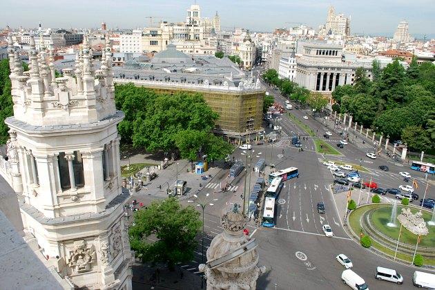 Madrid City Hall View