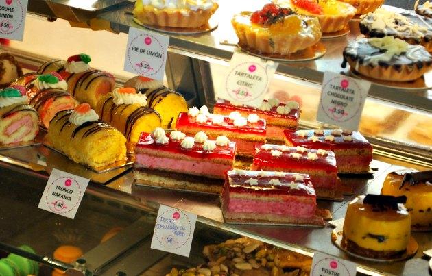 Madrid Mercado San Miguel Cakes