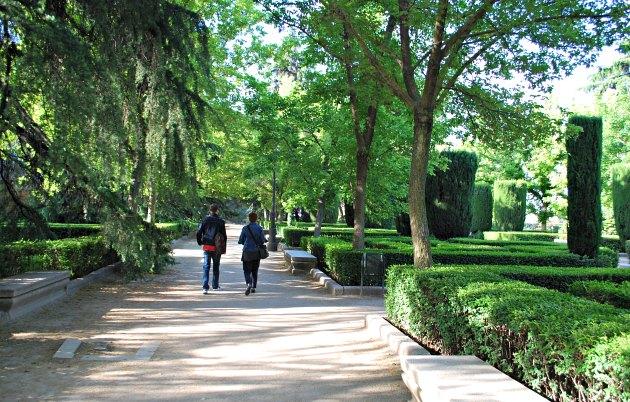 Madrid Palace Jardins de Sabatini