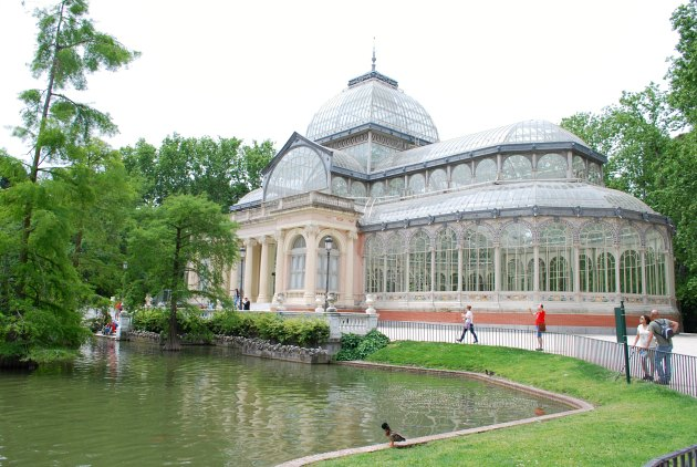 Madrid Retiro Park Crystal Palace