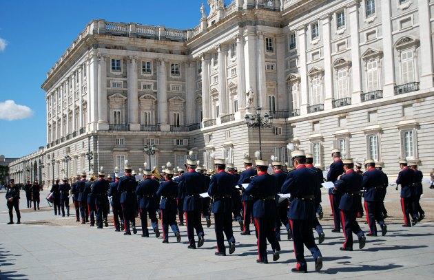 Madrid Royal Palace Marching Band