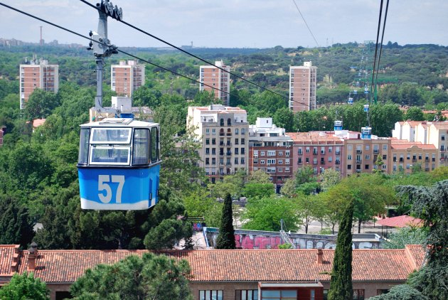 Madrid Cable Car City
