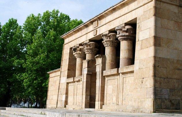 Madrid Temple Debod Front